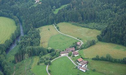 Ferienhof Schmauss in Tittling - Luftaufnahme