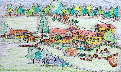 Ferienhof Schmauss am Nationalpark Bayerischer Wald - Skizze