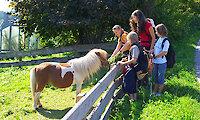 Ferienhof in Bayern - Kinder mit Pony