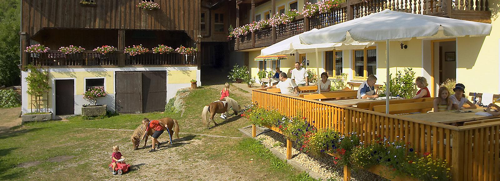 Ferienhof in Bayern - Familienurlaub